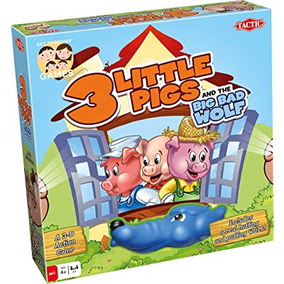 Tactic Games US 3 Little Pigs Board Game: Toys & Games