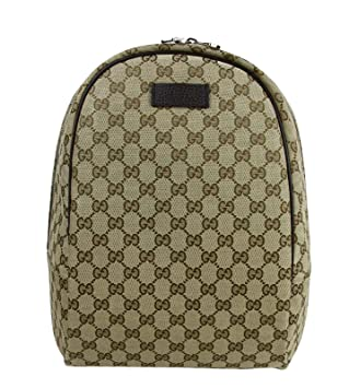 24943796d Gucci Unisex Zipper Top Beige/Brown GG Canvas Backpack 449906 9873:  Amazon.ca: Sports & Outdoors