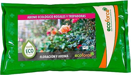 CULTIVERS Abono Especial Rosales y Trepadoras de 1, 5 kg. Fertilizante ecológico Potencia la Floración y Aroma de Las Flores. Origen 100% orgánico y Vegano: Amazon.es: Jardín