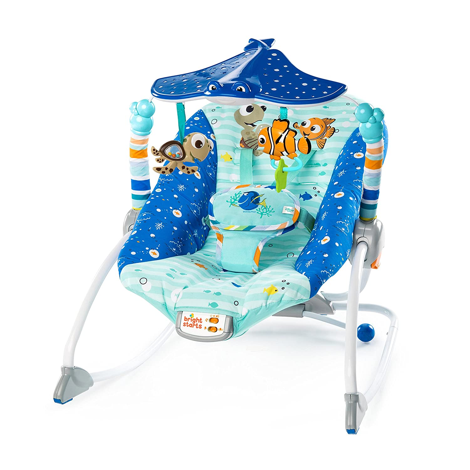 Disney Baby FINDING NEMO Explore the Sea Infant to Toddler Rocker Kids II - (Carson CA) 11199-3