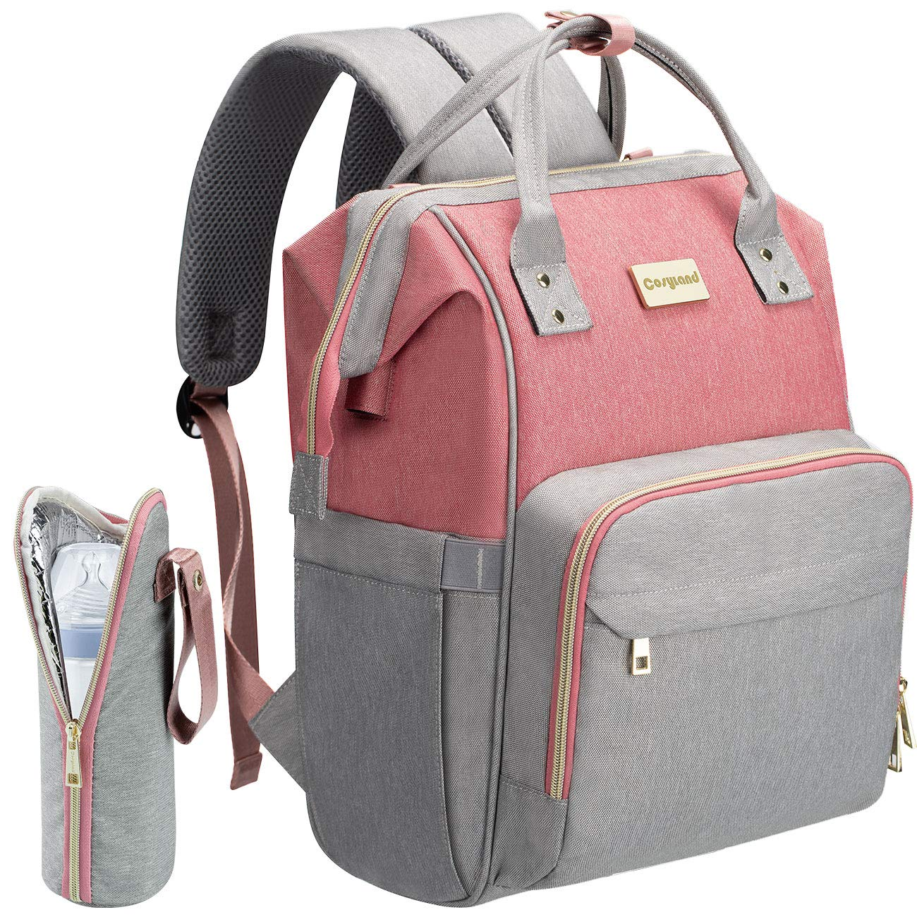COSYLAND Mom Travel Diaper Bag Backpack