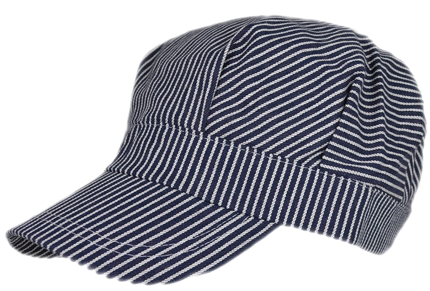 9f6951f9e6d Amazon.com  Adult Train Engineer Cap