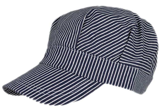 Men's Vintage Style Hats Adult Train Engineer Cap $15.95 AT vintagedancer.com