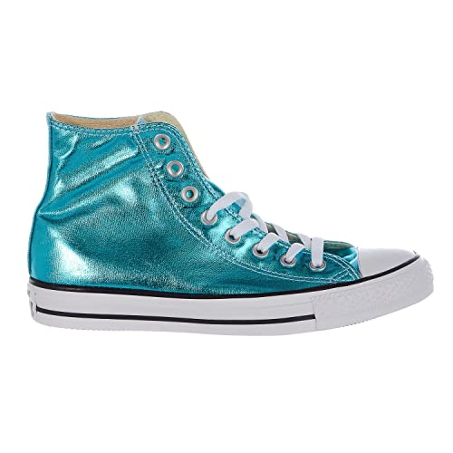 9a54d9ad8ec237 Converse Chuck Taylor All Star Hi Big Kids Men s Shoes Fresh Cyan Black