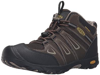 528160b108fd KEEN Oakridge Mid WP Hiking Shoe (Toddler Little Kid)
