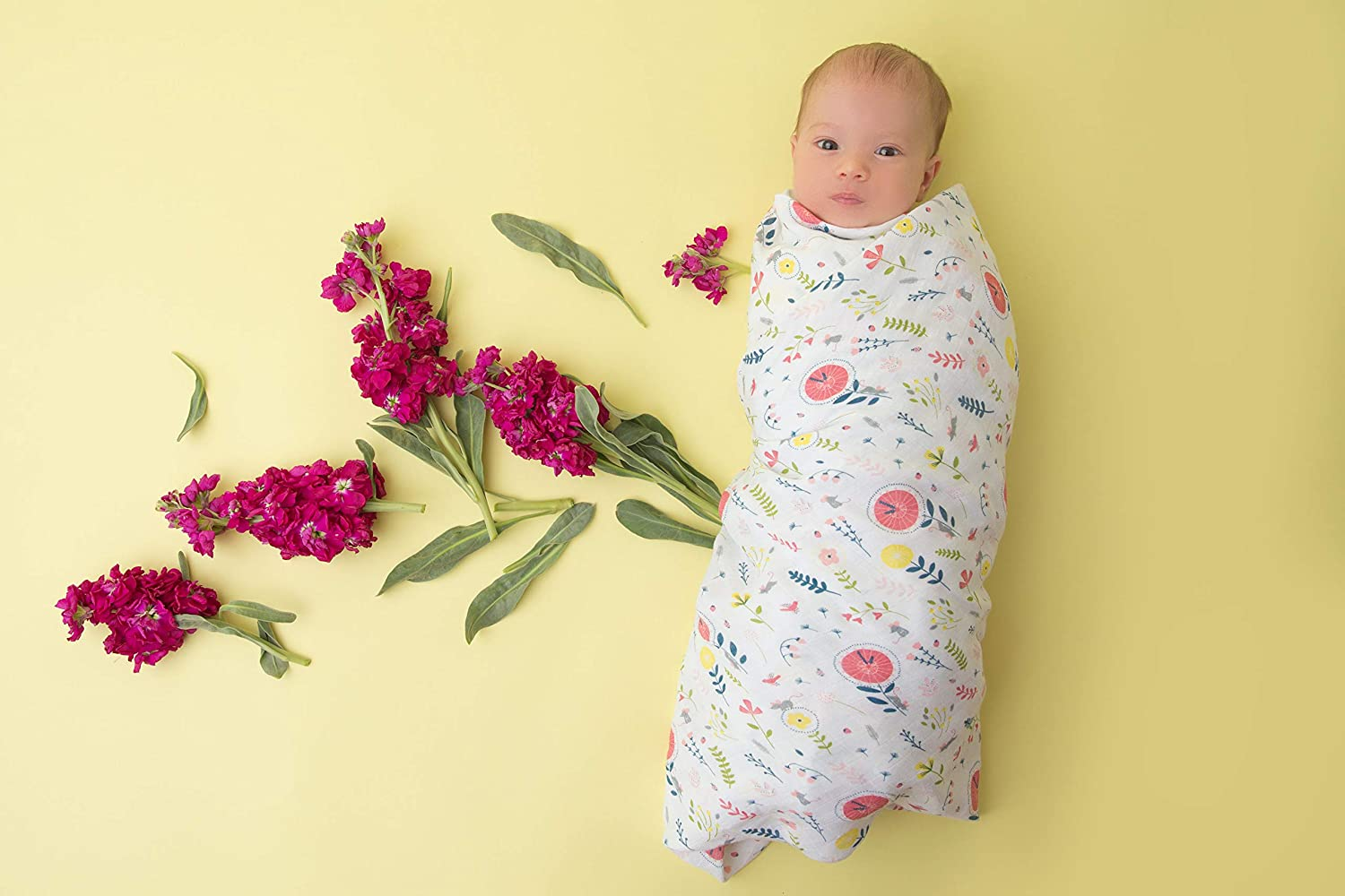 Angel Dear Muslin in Bamboo and Cotton Single Pack Whales Balene