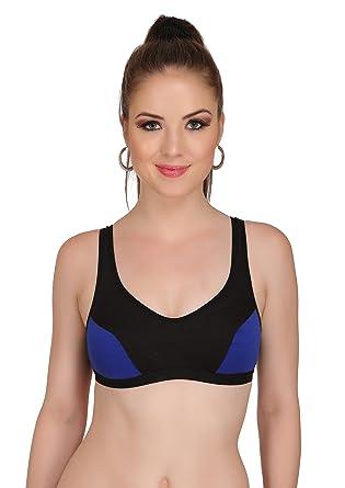 37260d6e605 JSR Paris Beauty Women Cotton Multicolor Bra  Amazon.in  Clothing ...