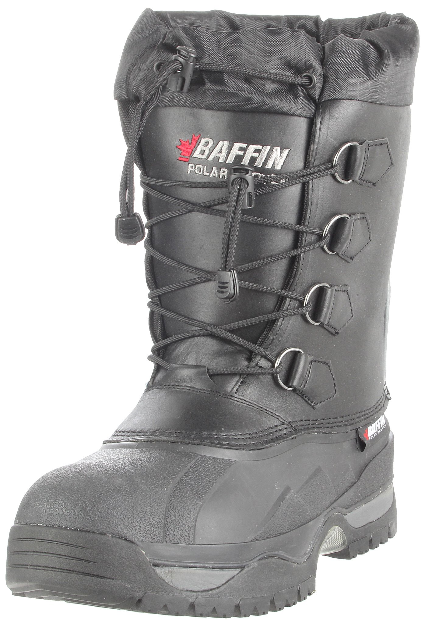 Baffin Men's Shackleton Snow Boot,Black,10 M US