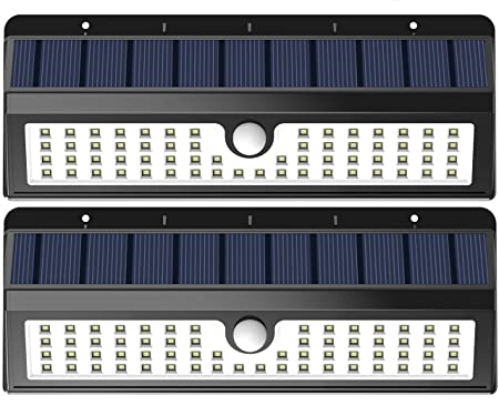 front facing lemontec outdoor solar lights