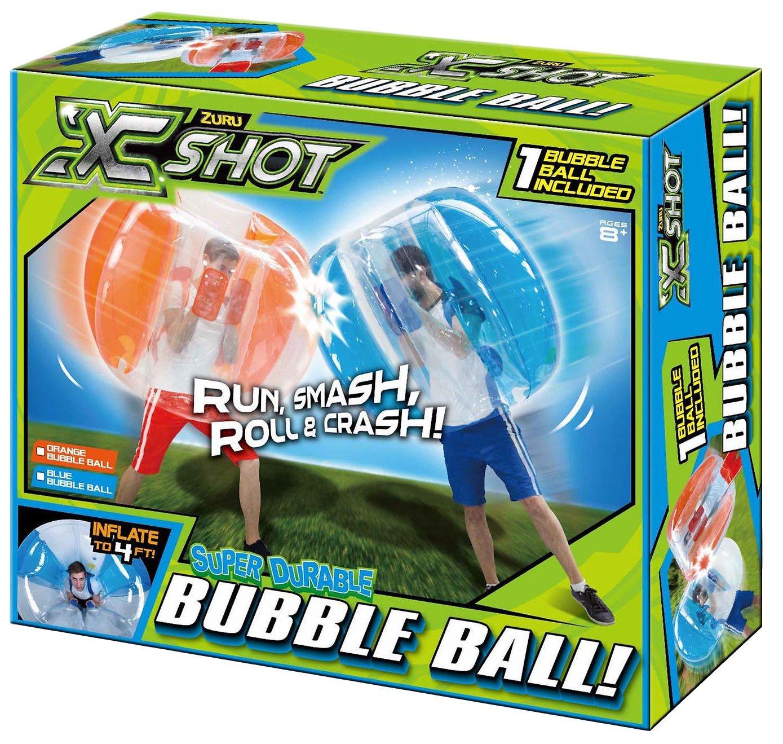 Zuru X-Shot Super Durable Human 4' Bubble Ball - Orange by Zuru (Image #1)