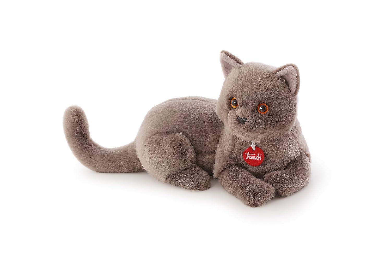 Trudi - Gato de peluche Chartreux Pompeo (21202): Amazon.es: Juguetes y juegos