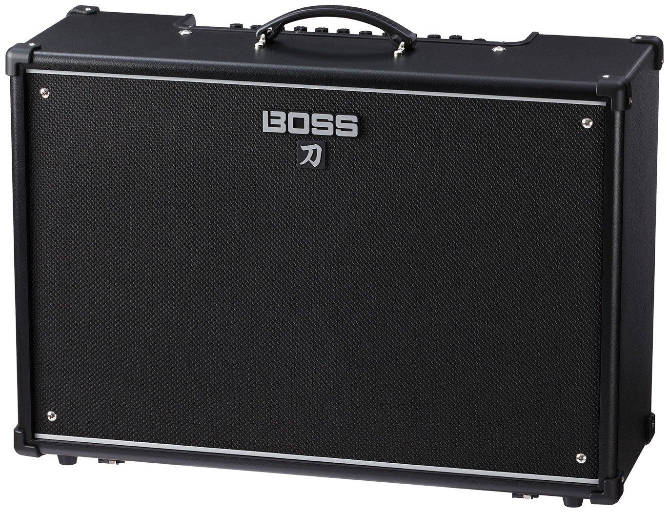 Boss KTN-100-212 Katana 100/212 Guitat Amplifier w/Bonus Strukture Instrument Cable SC186W & RIS Picks (x3) 761294509319 by Rock Island Sound