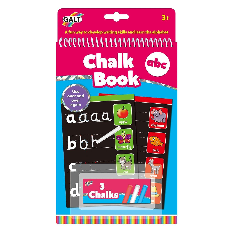 Alphabet Book for Children Galt Toys Chalk ABC