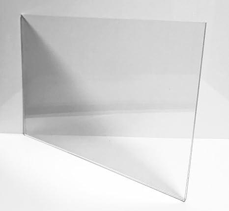 Porta poster/Portafoto/Porta retrato/Porta precios (APAISADO) modelo Sandwich Metacrilato 297mmx420mm (DIN A3): Amazon.es: Hogar