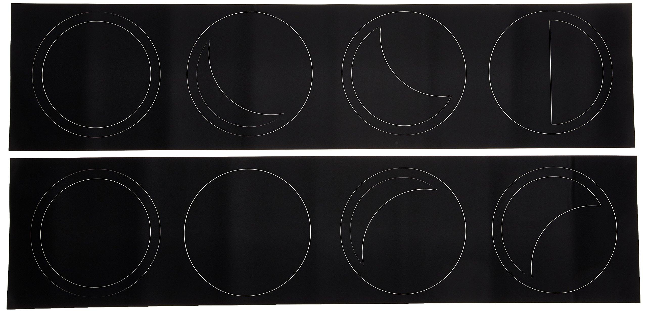 Vinilo Decorativo Pared [7DGNZQP6] luna fases