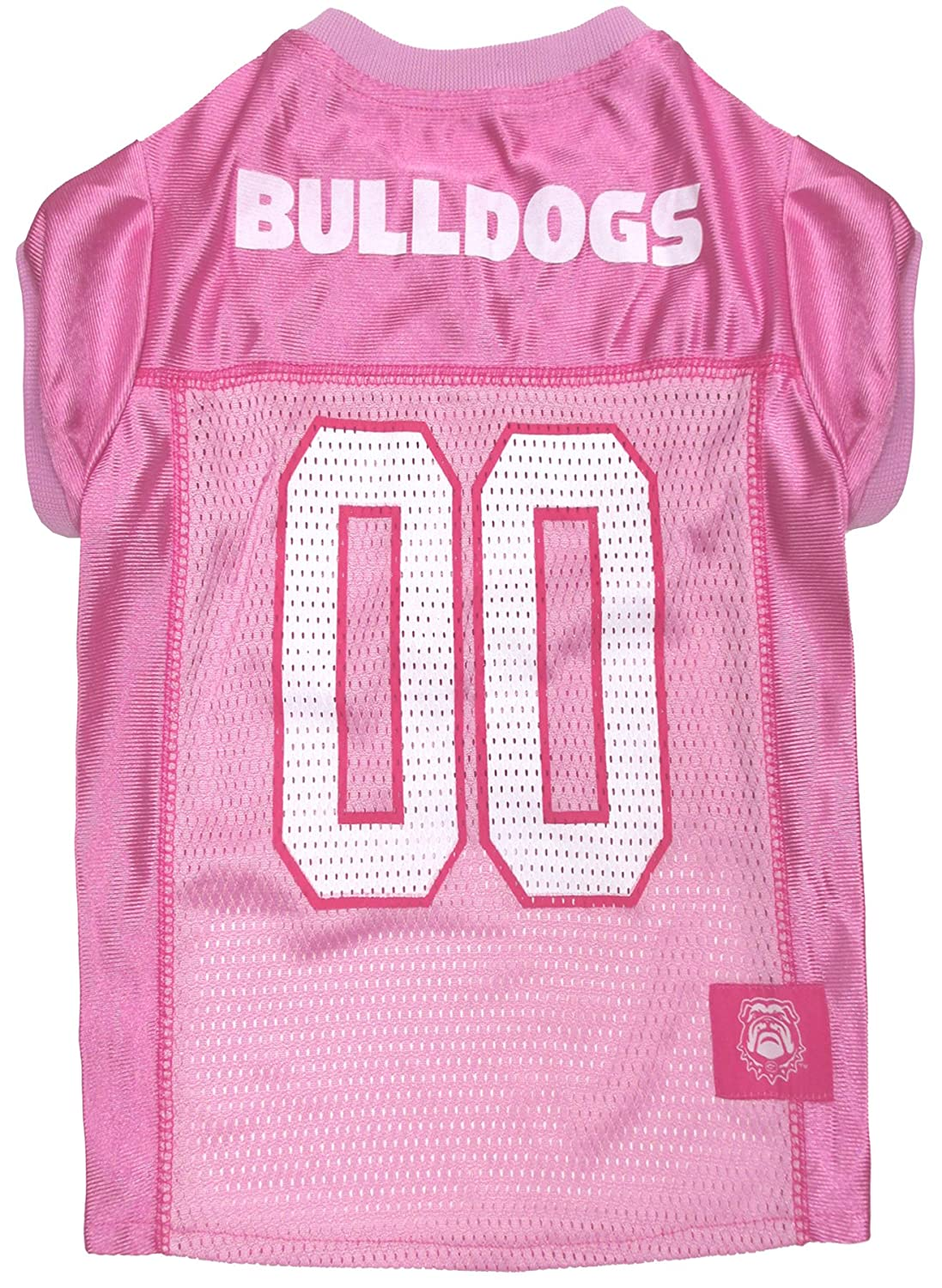NCAA Dog Pink Football Jersey Pet Pink Sports Outfit