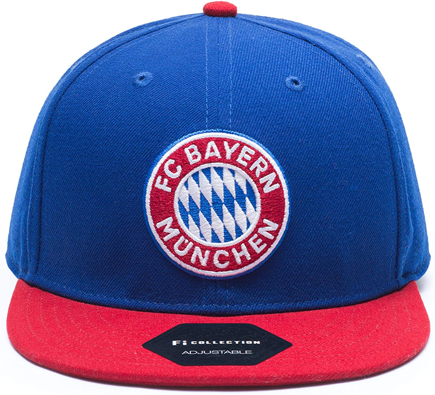 Fi Collection Bayern Munich Team Snapback Hat Blue/Red