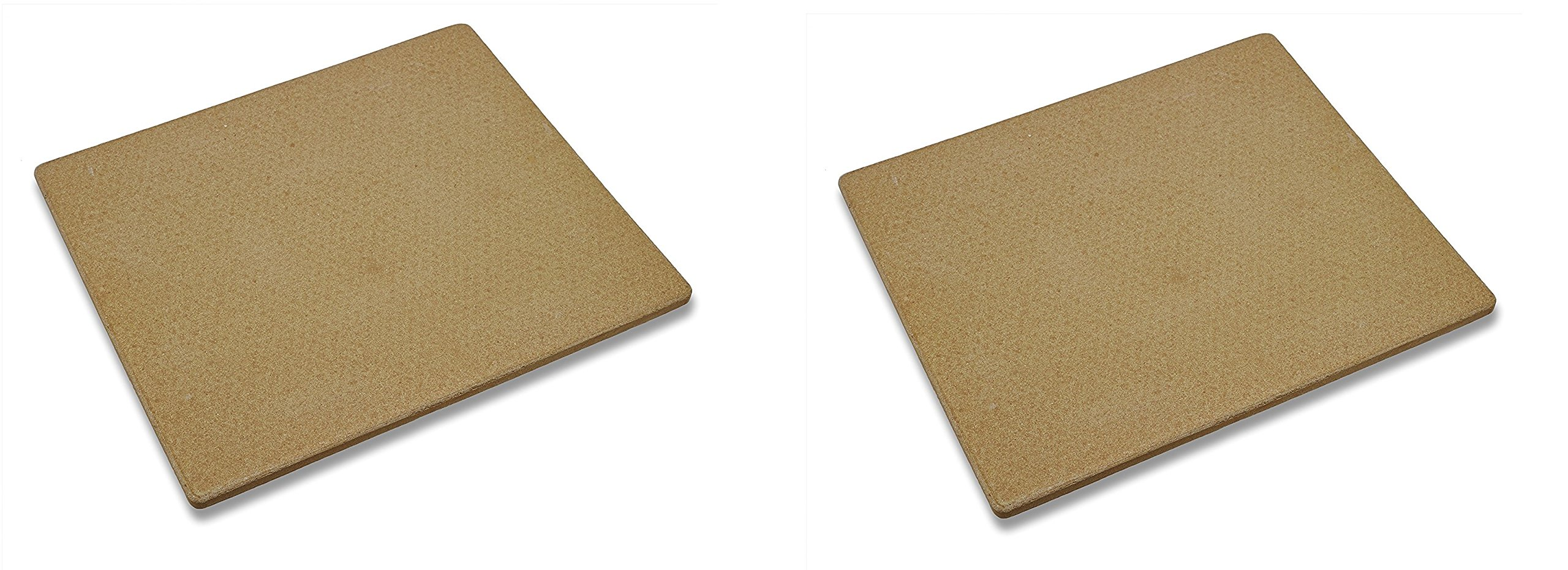 Old Stone Oven Rectangular Pizza Stone, 14.5-Inch x 16.5-Inch (Pack of 2)