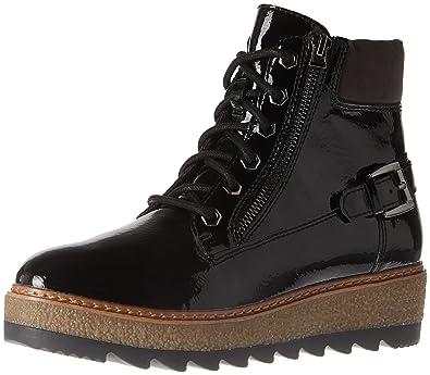 online store d2293 79516 Tamaris Women's 25220 Combat Boots, (Black Patent), 3.5 UK ...