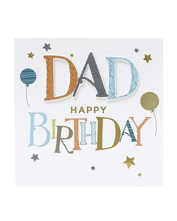 Tarjeta de felicitación de cumpleaños para papá, tarjeta de ...