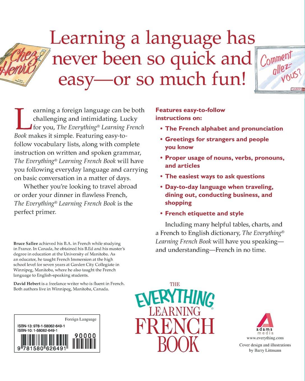 everything learning french everything language u0026 writing