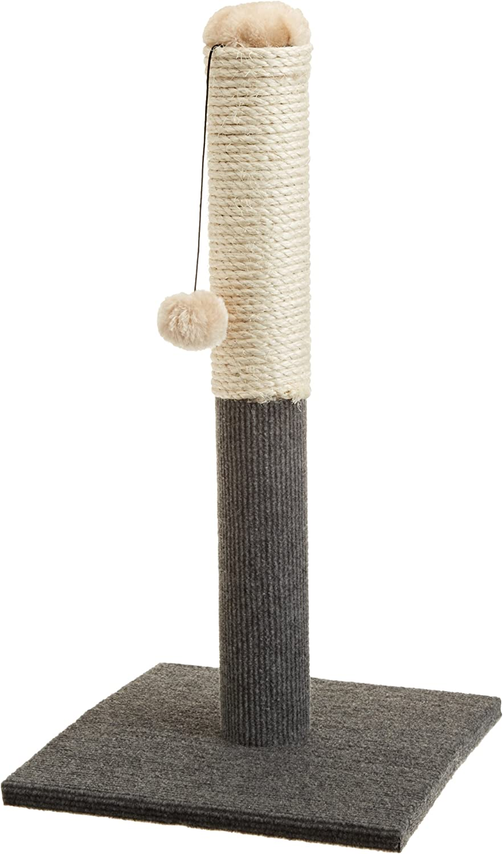 ASPCA AS-6130 Cat Scratching Post, Gray