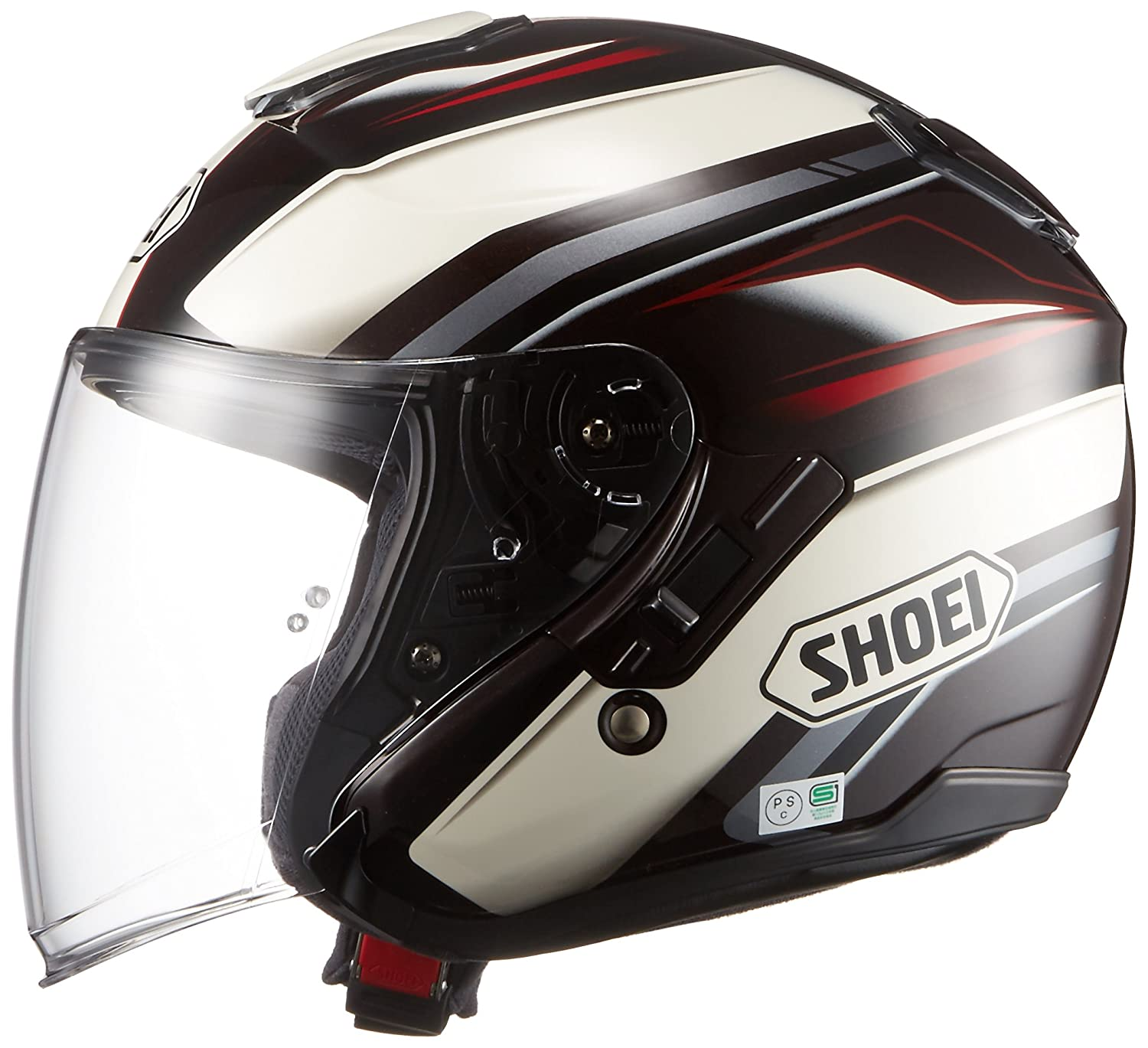 Amazon.com: Shoei J-Cruise Passe (61cm(24in)-XL, TC-10-Brown/White): Automotive