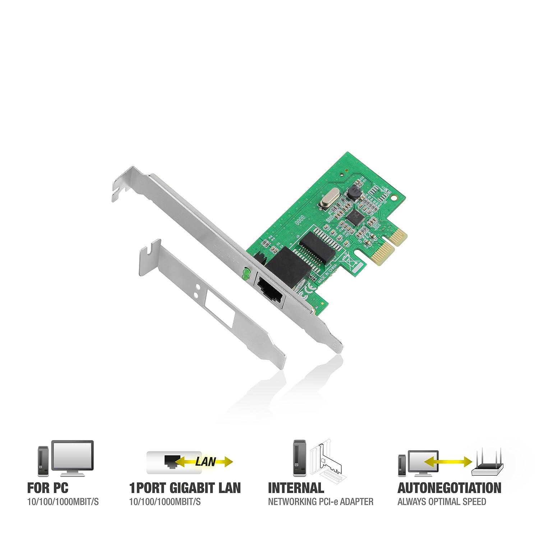 Eminent / Tarjeta Red / 10/100/1000 MBPS/PCI-E / EM4029 EM4029 ...