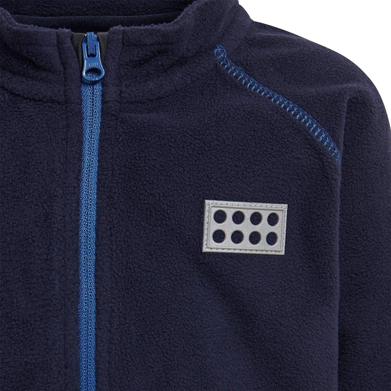 Beb/é-Ni/ños 98 Azul LEGO Wear Duplo Unisex Lwsirius 703-Einteiler Overall Fleece Chaqueta Dark Navy 590