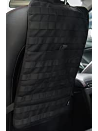 OneTigris Car Seat Back Organizer Tactical MOLLE Vehicle Panel Cover Protector Universal Fit