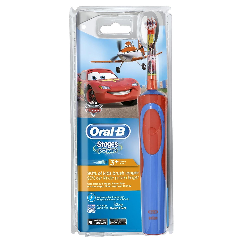 Oral-B Spazzolino Elettrico per Bambini Cars - Ricaricabile per 18,46€ (Prime) [amazon.it]