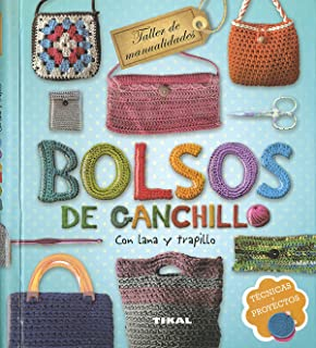 Bolsos de ganchillo (TALLER DE MANUALIDADES) (Spanish Edition)