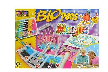 Malinos BloPens 5+1 Pustestifte und Malzauber12 Zauberstifte Packung NEU