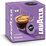 Lavazza A Modo Mio Espresso Soave 16 Kapseln, 2er Pack (2 x 0.112 kg)