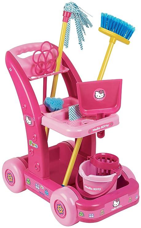 Faro Hello Kity - Juego infantil de limpieza con carrito