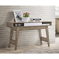 NOBU Hallway Console Table Side Entry Display Stand Drawer Scandinavian Oak Wooden
