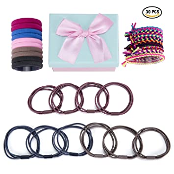Intelligent 10pc Black Girls Headwear Elastic Hair Bands Ponytail Holder Hair Ties Ring Hairband Elastic Scrunchy Hair Accessories For Women Traveling Girl's Hair Accessories