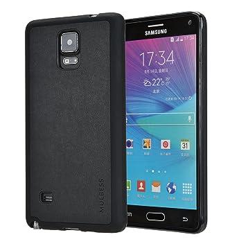 Mulbess Funda Samsung Galaxy Note 4 Cuero Silicona TPU ...