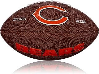 Wilson WL0206562042 Ballon de football américain Logo Mini Chicago Bears Marron - 2