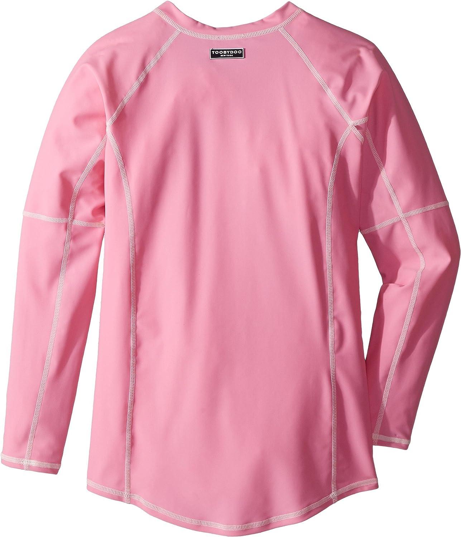 Infant//Toddler//Little Kids//Big Kids Toobydoo Baby Girls Pink Rashguard w//Long Sleeves