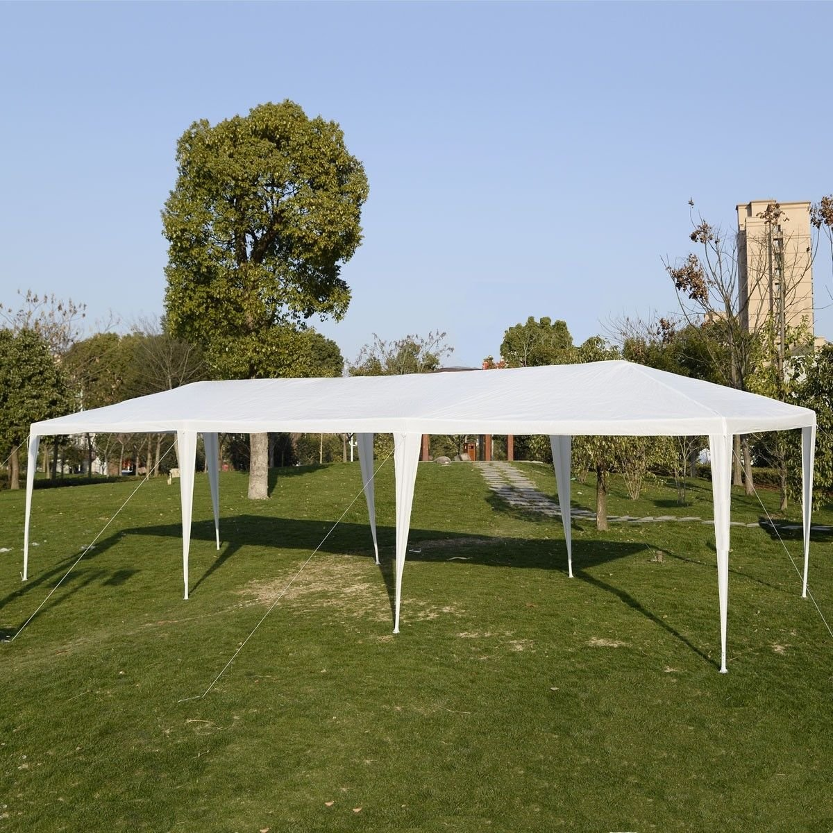 Amazon.com  Giantex 10u0027x30u0027Heavy duty Gazebo Canopy Outdoor Party Wedding Tent  Sports u0026 Outdoors & Amazon.com : Giantex 10u0027x30u0027Heavy duty Gazebo Canopy Outdoor Party ...