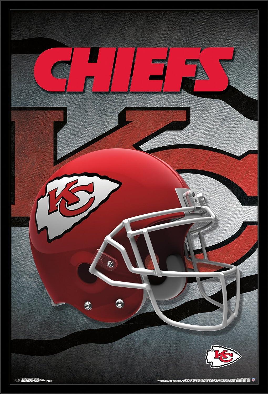 Trends International Kansas City Chiefs Helmet Wall Poster 22.375 X 34