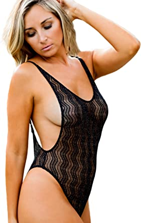 ce9927673e Brigitewear Cheeky Side Boob One Piece Swimsuit at Amazon Women's Clothing  store: