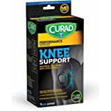 Curad Neoprene Pull Over Knee Support with Open Patella, Medium