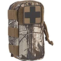North American Rescue M-FAK Mini First Aid Kit with CAT Tourniquet and QuikClot Bleeding Control Bandage (Realtree Camoflage)