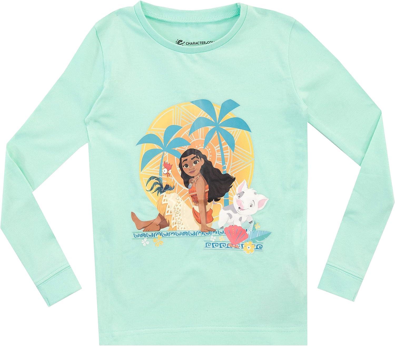 Disney Pigiama a maniche lunghe per ragazze Oceania Vestibilitta Stretta