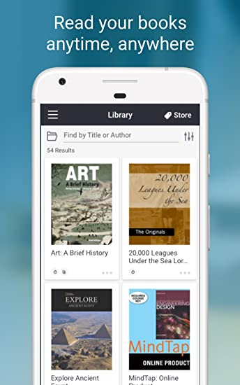 Amazon Bookshelf Appstore For Android