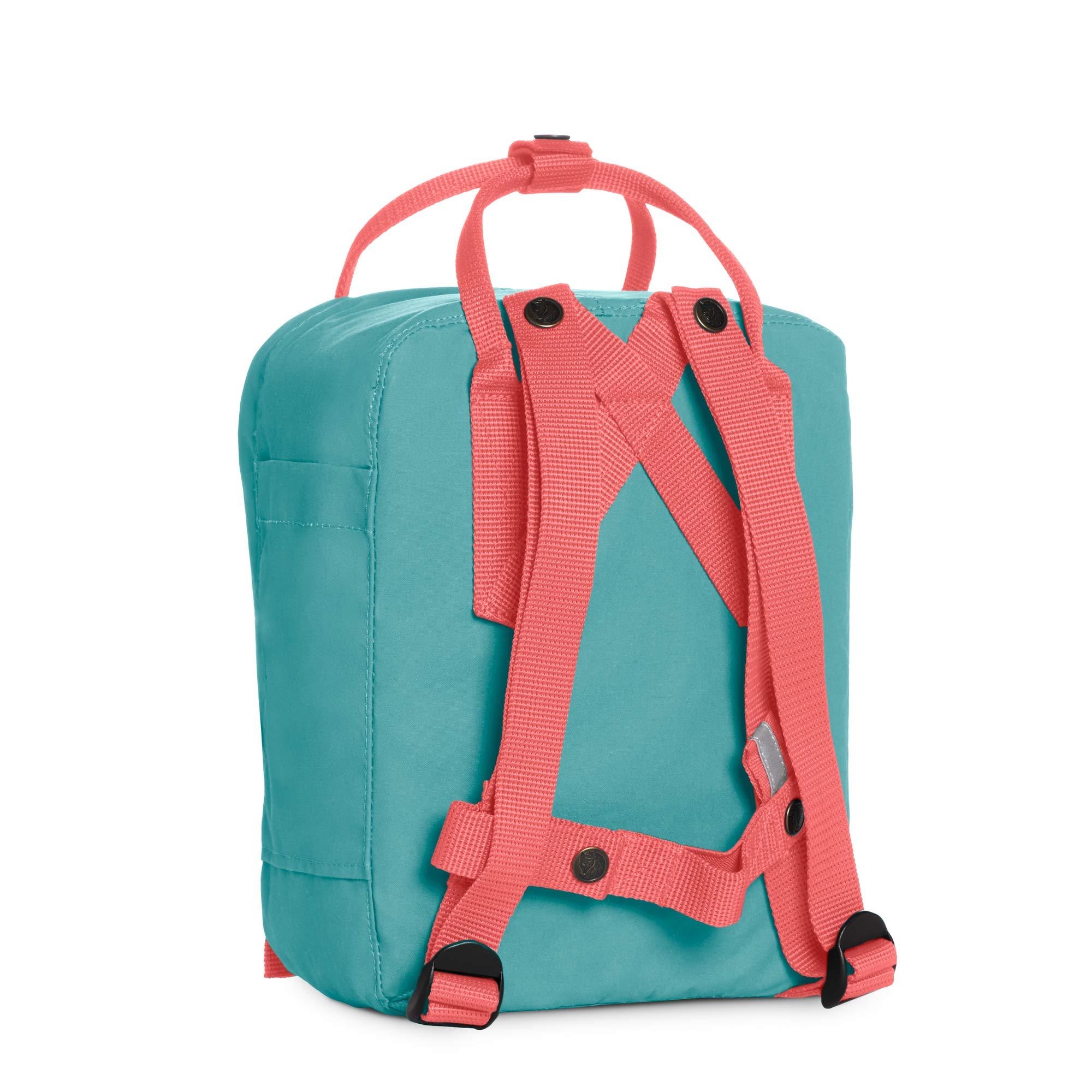 Fjallraven Kanken Kids Daypack Frost Green Peach Pink F23551