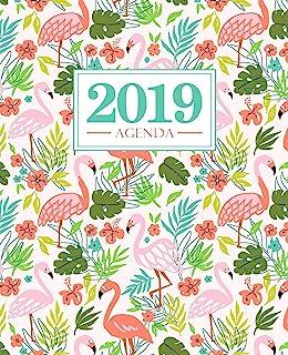 Agenda 2019: 190 x 235 mm : Agenda 2019 semana vista español : 160 g