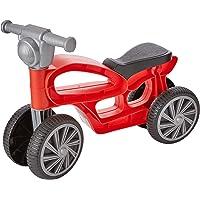 Chicos Correpasillos con 4 Ruedas, Color Mini Custom roja (Fábrica de Juguetes 36006)